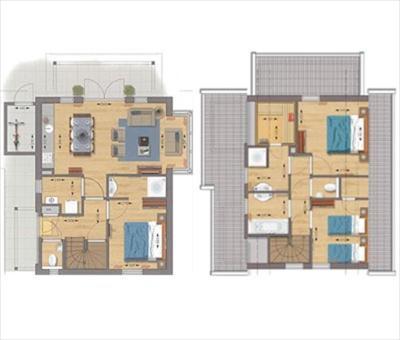 die residence klein vink in limburg bietet familien ferienhäuser, Badezimmer